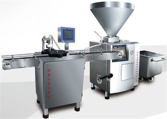 High Speed ​​Meat Canning Equipment Luncheon Meat Can Vacuum Filler Machine